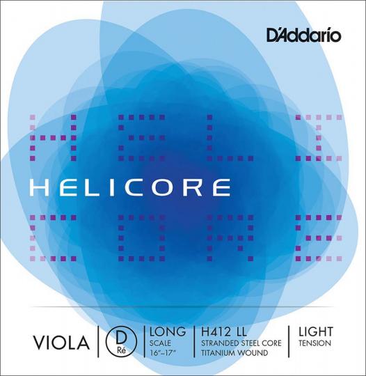 D´ADDARIO  Helicore corda RE per viola, light