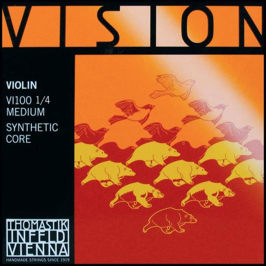 THOMASTIK Vision Satz 1/4 Violinsaiten, medium
