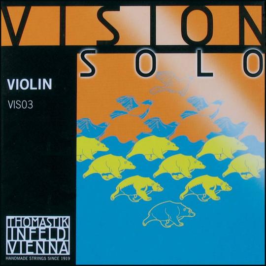 THOMASTIK Vision SOLO D-Saite für Violine, mittel