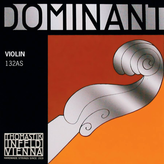 THOMASTIK  Dominant  corda RE per violino argento, forte