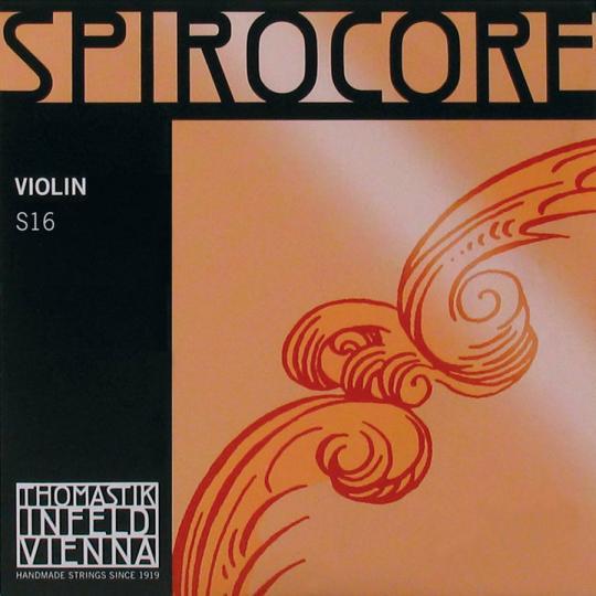 THOMASTIK  Spirocore corda SOL in tungsteno per violino