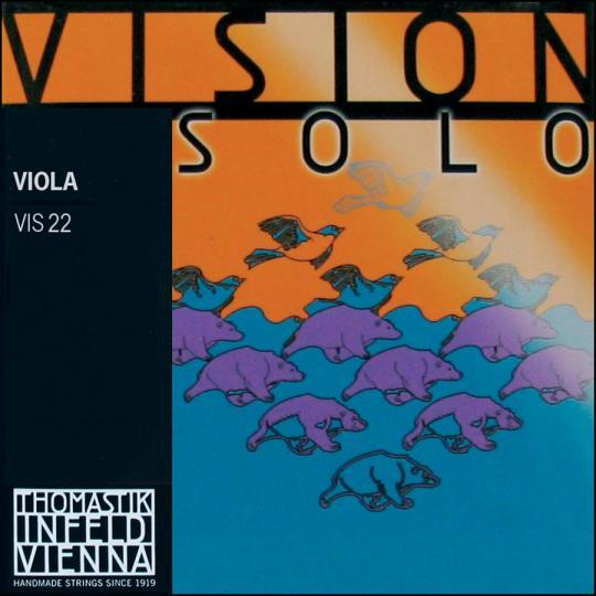 THOMASTIK Vision SOLO Viola D-Saite, mittel