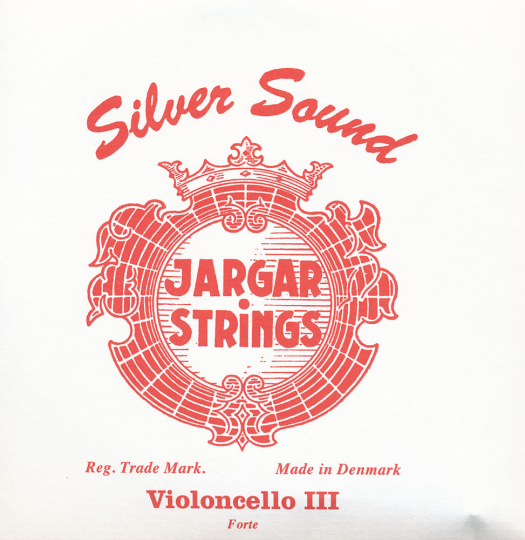 JARGAR muta per violoncello Silver Sound, forte
