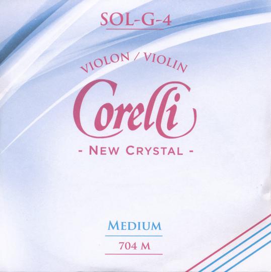 CORELLI Crystal corda SOL per violino, medium