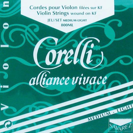 CORELLI Alliance muta per violino MI con cappio, med.l