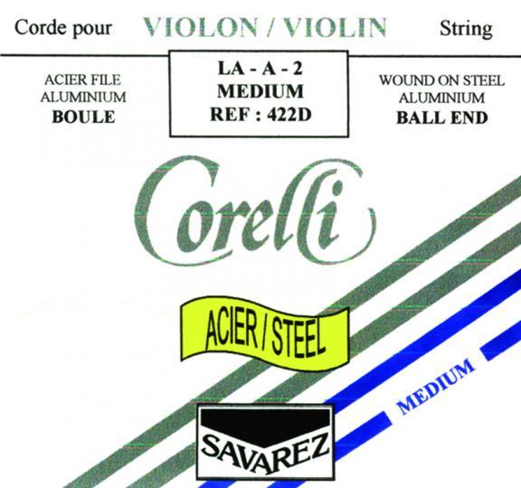 CORELLI budello  corda RE 16 per violino1/2