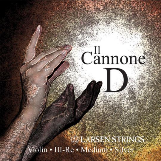 Larsen Il Cannone violino corda RE, medium