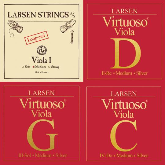 LARSEN Virtuoso muta per viola (LA con cappio), medium