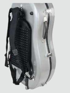 sistema zaino per custodia da violoncello