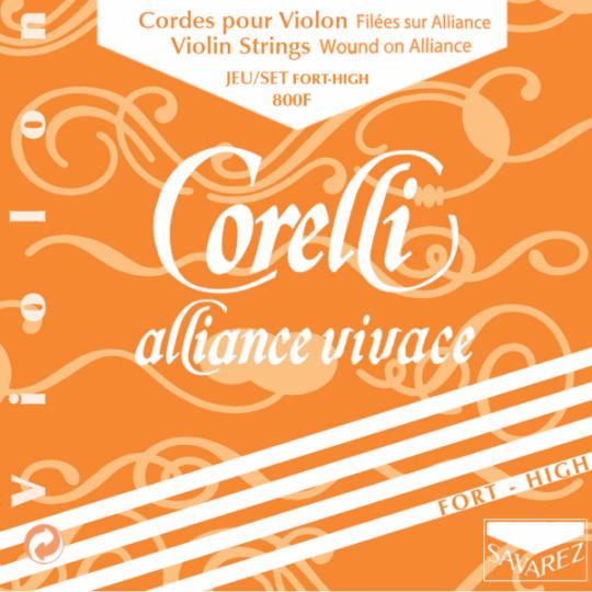 CORELLI Alliance muta per violino MI con cappio, forte