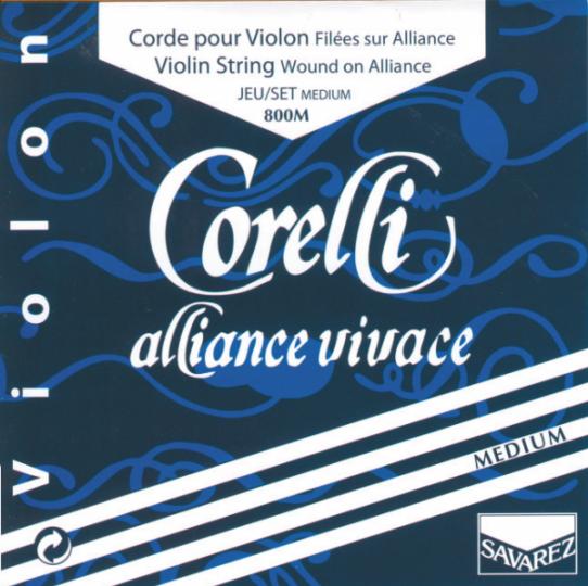 CORELLI Alliance corda MI  per violino con cappio, medium