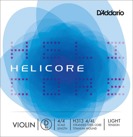 D´ADDARIO Helicore corda RE per violino light