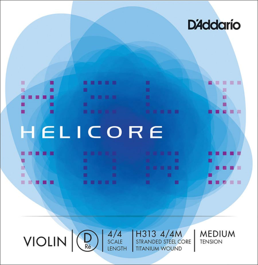 D´ADDARIO Helicore corda RE per violino medium