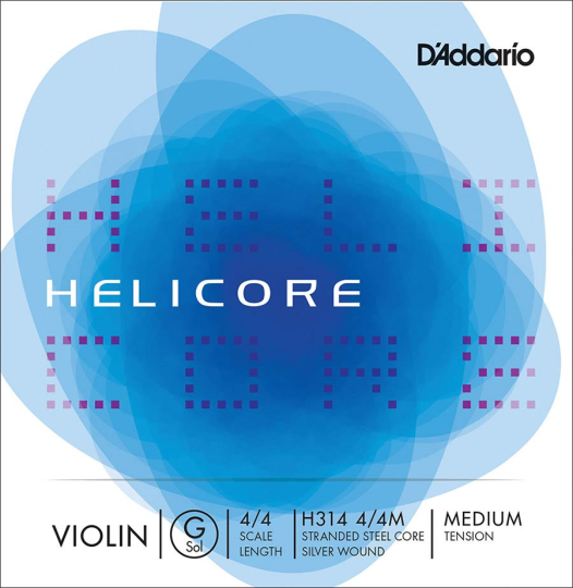 D´ADDARIO Helicore corda SOL per violino
