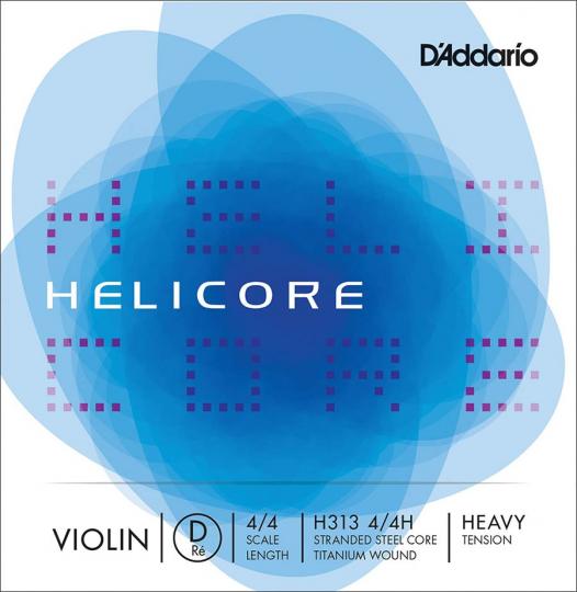 D´ADDARIO Helicore corda RE per violino, heavy