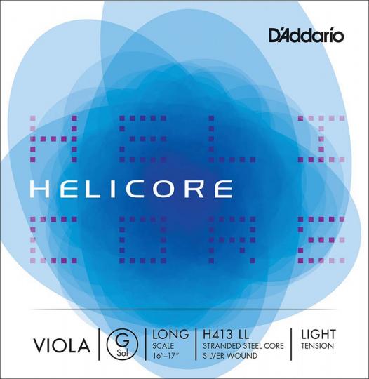 D´ADDARIO  Helicore corda SOL per viola, light