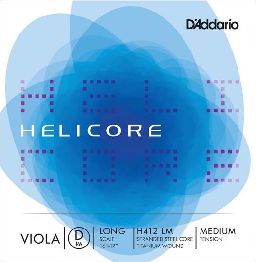 D´ADDARIO  Helicore corda RE per viola, medium