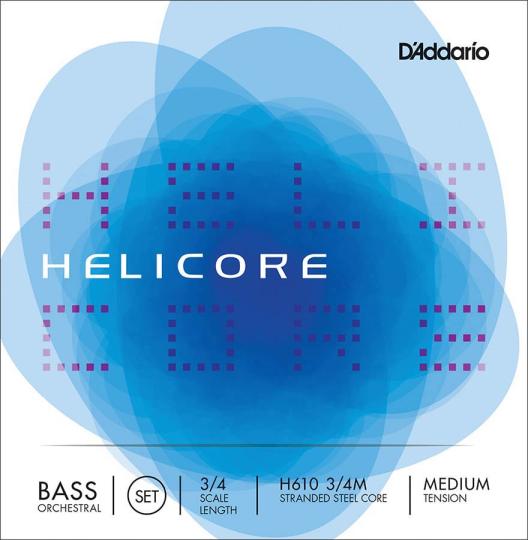 D´ADDARIO  Helicore muta per contrabbasso H, medium