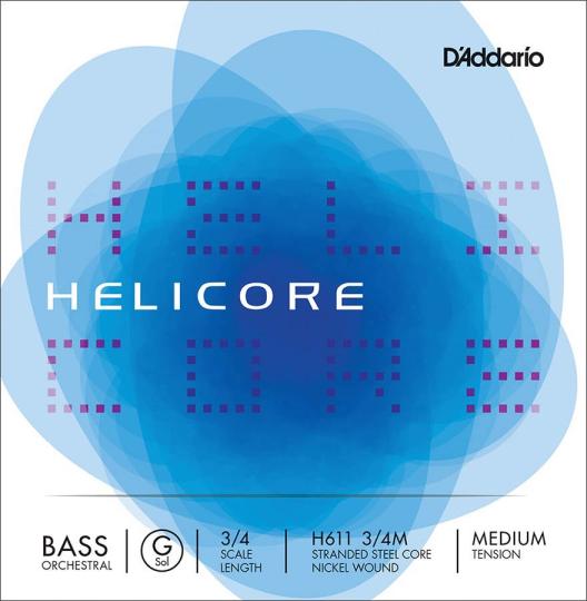 D´ADDARIO  Helicore contrabbasso H611 corda SOL