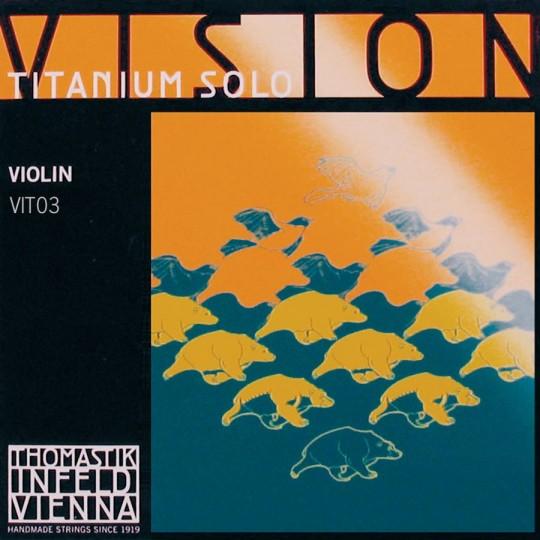 INFELD *VISION* Titanium corda RE per violino, medium