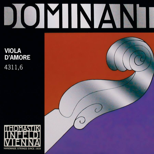 THOMASTIK Dominant Viola D´Amore corda RE