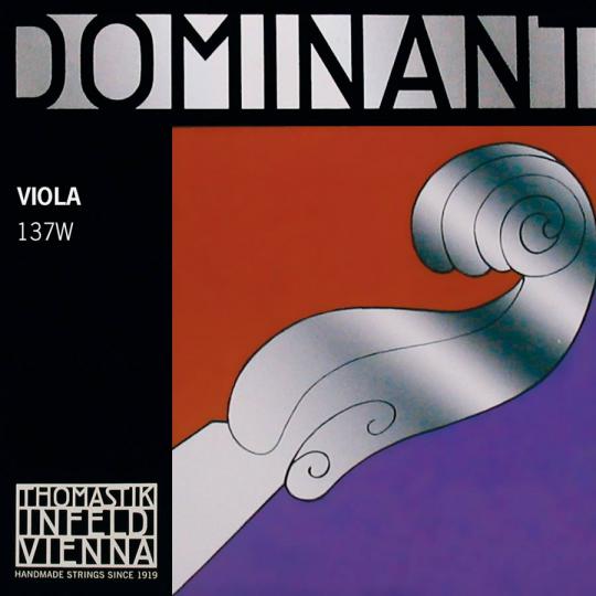 THOMASTIK  Dominant corda RE alluminio per viola, dolce