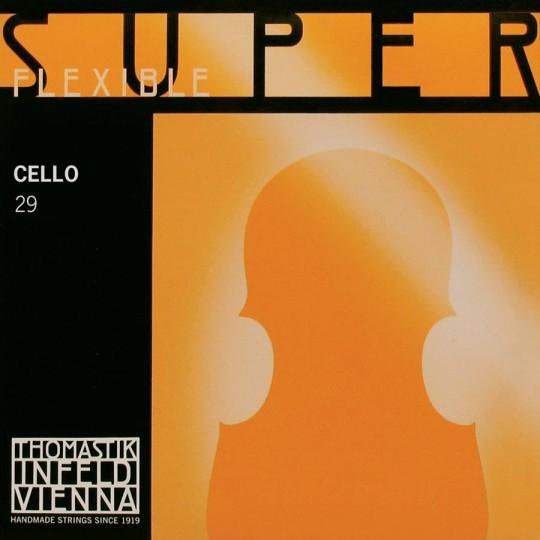 Thomastik-Superflexible corda DO cromo per violoncello, medium