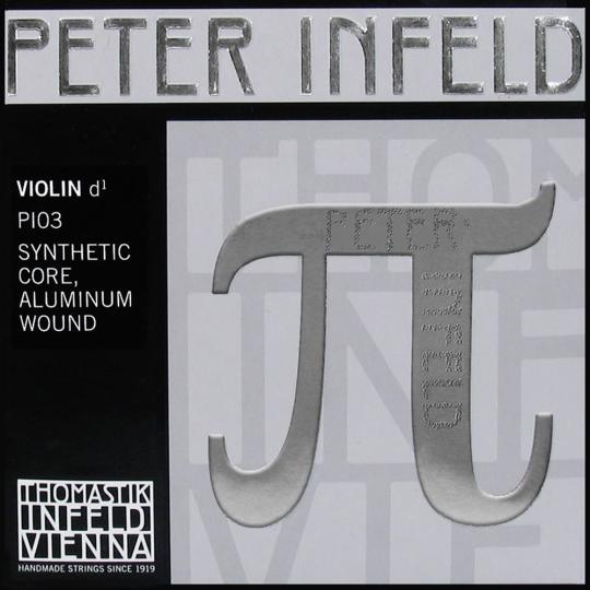 Thomastik Peter Infeld PI, CORDA RE alluminio PER VIOLINO, MEDIUM