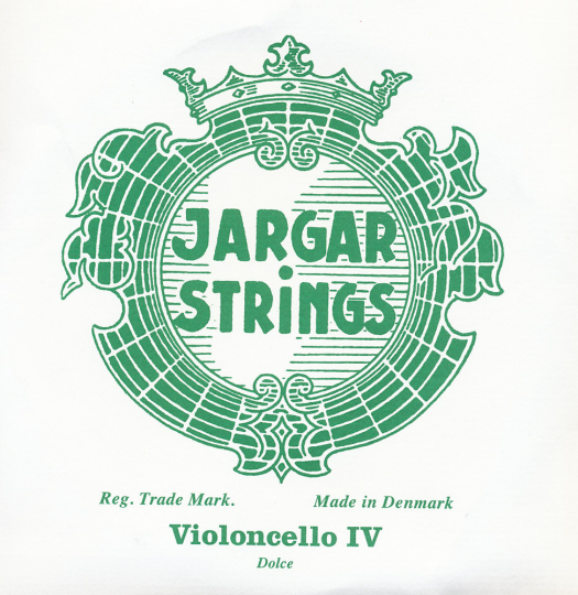 JARGAR corda DO cromo per violoncello, dolce