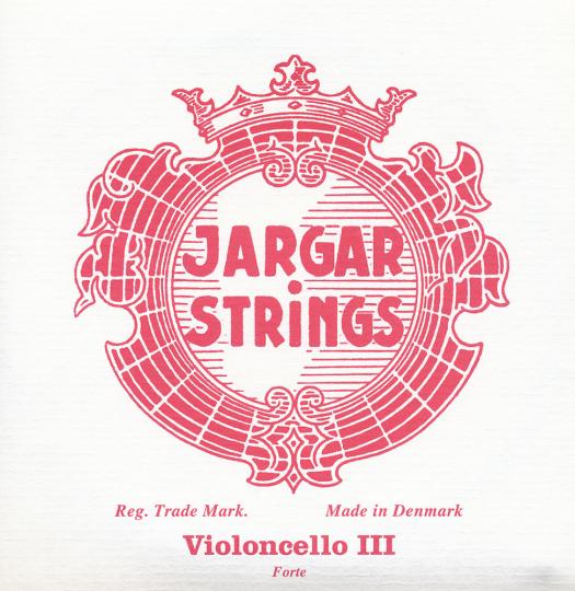 JARGAR corda SOL cromo per violoncello, forte