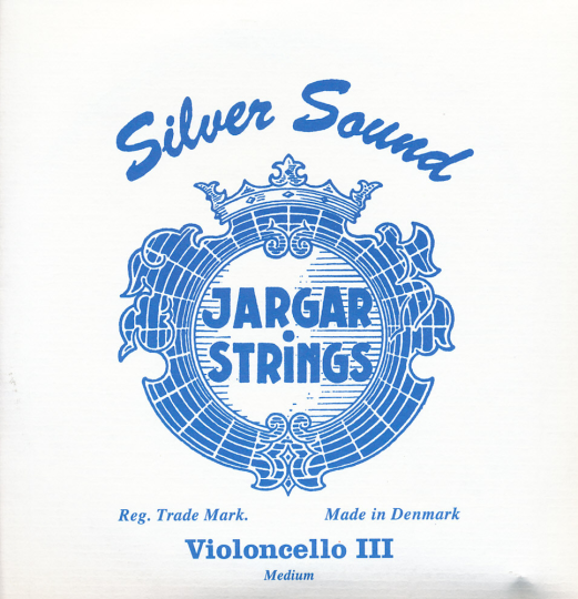 JARGAR muta per violoncello Silver Sound, medium