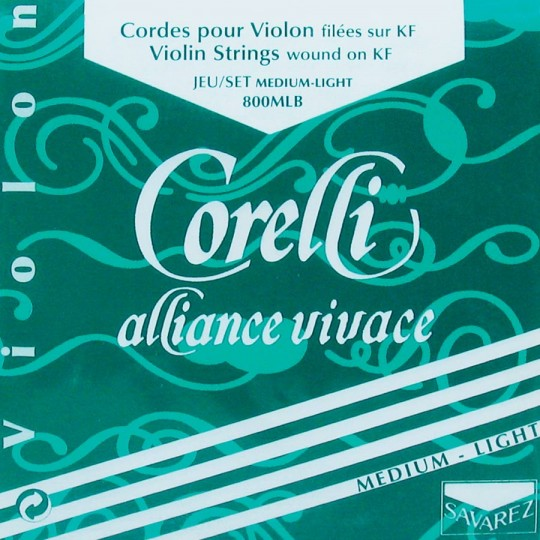 CORELLI Alliance muta per violino MI con sfera med.light