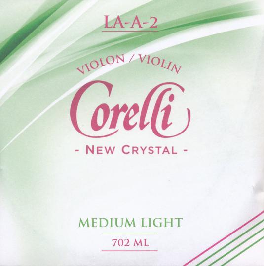 CORELLI Crystal corda LA  per violino, med.light