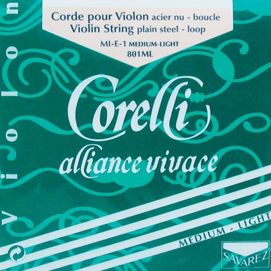 CORELLI Alliance corda MI  per violino con cappio, med.ligh