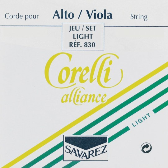 CORELLI  Alliance muta per viola, light