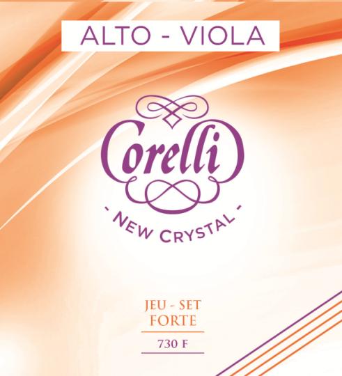 CORELLI  Crystal corda SOL per viola forte