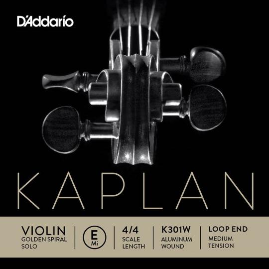 KAPLAN Golden-Spiral Solo corda MI  cappio medium