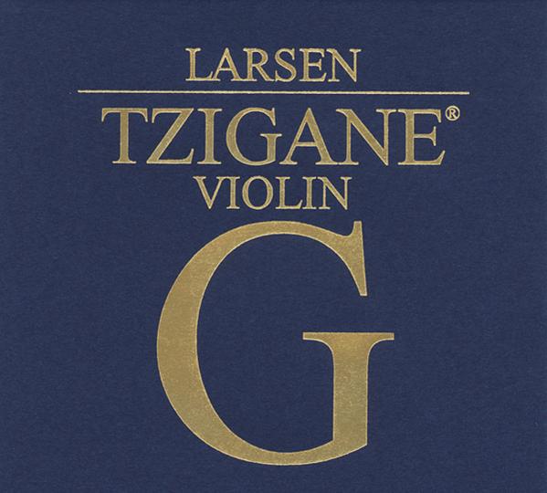 LALARSEN Tzigane corda per violino Sol argento, medium