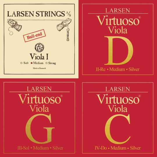 LARSEN Virtuoso muta per viola (LA con sfera), medium