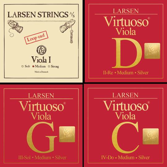 LARSEN Virtuoso Soloist muta per viola La con cappio, medium