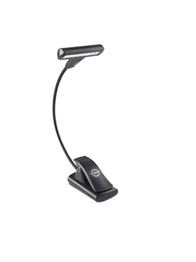 K & M Music stand light »T-Model LED FlexLight« - black