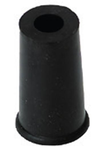Cappuccio cilindrico in gomma per puntale per contrabbasso
