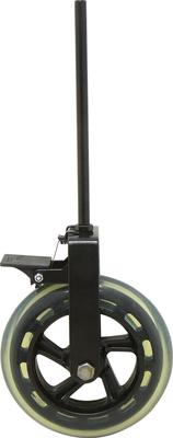 Glasser ruota per puntale contrabasso, bloccabile