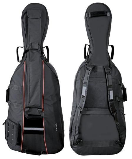 GEWA Premium borsa per violoncello, nero 1/8