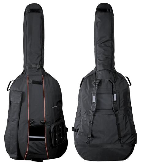 GEWA Premium borsa per contrabbasso nero