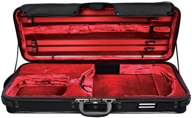GEWA Strato de Luxe custodia rettangolare viola