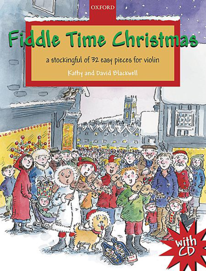 Fiddle Time Christmas, 1-2 violins