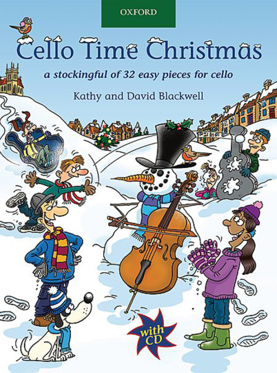 Cello Time Christmas mit CD