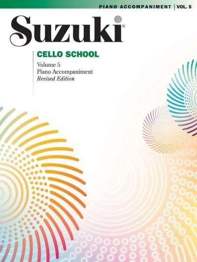 Suzuki Cello Schule Klavierbegleitung Band 5