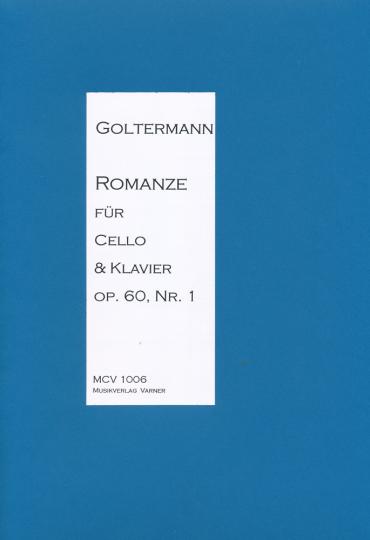 Georg Goltermann, 1824-1898, <b>Romanze</b> für Cello u